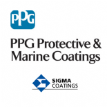 PPG Sigma SigmaGuard CSF 650 2K Solvent Free Amine cured Epoxy Coating Green 4lt